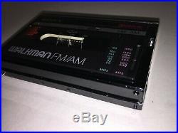 Sony Walkman CASSETTE TAPE PLAYER PORTABLE WM-F10 II NEEDS WORK JOB LOT