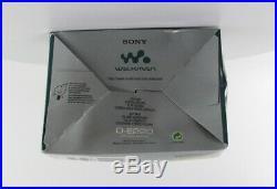 Sony Walkman D-E220 Portable CD Player (D-E220/LC)