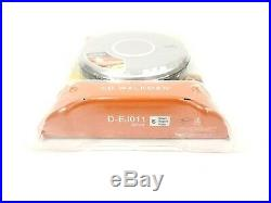 Sony Walkman D-EJ011 Personal Portable CD Player G-Protection New Sealed