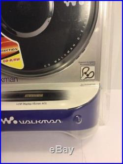 Sony Walkman D-EJ011 Personal Portable CD Player Jog Proof G Protection Black