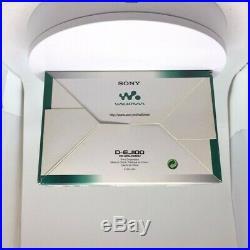 Sony Walkman D-EJ100 Personal Portable CD Player Silver