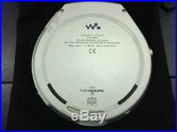 Sony Walkman/Discman D-EJ925 Portable CD Player