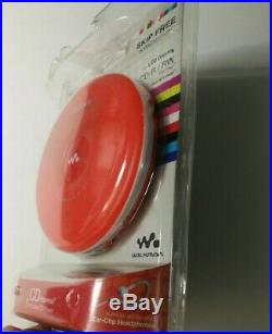 Sony Walkman Portable CD Compact Disc Player D-EJ001 NEW Sealed Orange NICE
