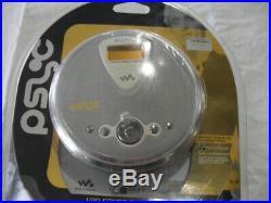 Sony Walkman Psyc Portable Atrac3 / MP3 CD Player D-NE300 psgray Brand New