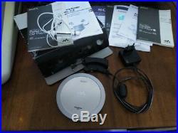 Sony Wallkman D-NE720 portable discman cd audio player