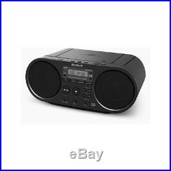 Sony ZSPS55 Boombox CD Player with FM DAB Black