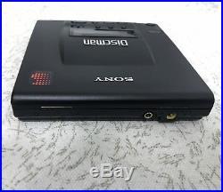 Sony discman D-303 portable CD player DBB Japan version good working condition