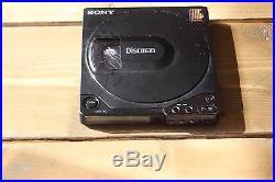 Super Rare Sony D-15 Portable Cd Player