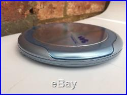 Super Vintage Sony Discman Personal And Portable CD Player D-ne9
