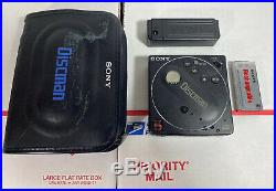 ULTRA RARE 1980s Retro Sony D-88 Discman CD Player AS IS / Please Read Fully
