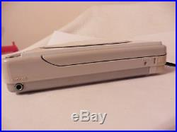 ULTRA RARE Vintage 80s White Sony Discman D-40 Compact Disk Player portable CD