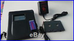 VINTAGE 1991 Sony Discman Walkman D-350 WITH CASE PERFECT TESTED CD PLAYER