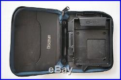 Vintage 1980s Retro Sony D-88 Discman CD Player Bundle For Parts Not Working