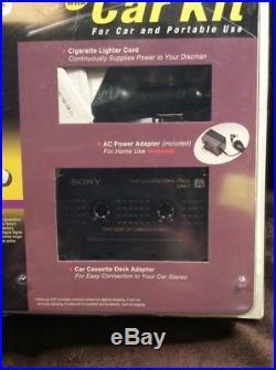 Vintage New Sealed Sony Discman with ESP2 CD Walkman Portable Player (D-E200)