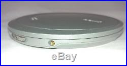 Vintage Sony CD Walkman D-EJ1000 Player Silver AS IS / NEEDS NEW BATTERIES