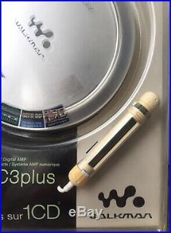 Vintage Sony CD Walkman D-NE720 Brand New Factory Sealed Atrac 3 Plus NIB RARE