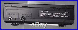 Vintage Sony D-14 CD Compact Disc Player WithPower Supply AC-D50