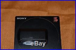 Vintage Sony D-25 Portable Discman CD Player Digital Working
