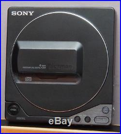 Vintage Sony D-25 Portable Discman CD Player NICE WORKS