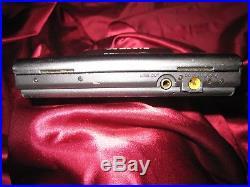 Vintage Sony D-303 Discman Mega Bass Portable CD Player
