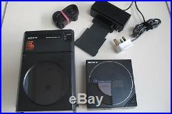 Vintage Sony D-50 Portable CD Walkman Discman Player
