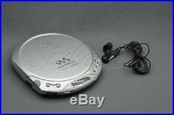 Vintage Sony D-E223 ESPMAX Personal, Portable CD Player, Cd Walkman, Discman
