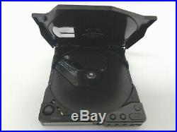 Vintage Sony Discman D-15 Portable CD Player & CMP AS-IS Untested PARTS #5107