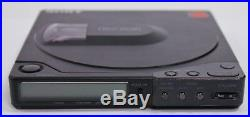 Vintage Sony Discman D-15 Portable CD Player compact disc AS-IS Not Working