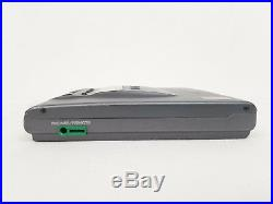 Vintage Sony Discman D-303 Portable CD Player with Case for Parts or Repair