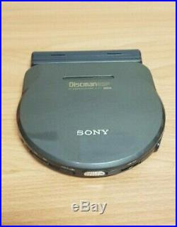Vintage Sony Discman D-777 Portable CD Compact Player tested & working