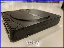 Vintage Sony Discman Model D-9 Portable Cd Player