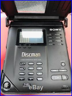 Vintage Sony Discman Personal / Portable CD Player D-350