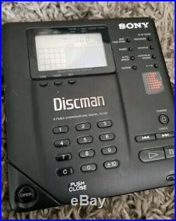 Vintage Sony Discman Portable CD Compact Disc Player D-35 JAPAN D-350 Metal