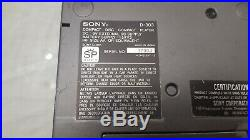 Vintage sony d-303 discman cd player not working