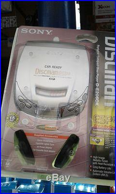 Walkman discman sony d-e206ck With charger adapter etc, sealed new